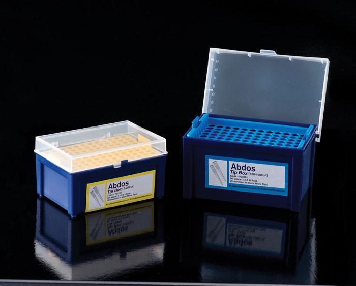 Empty Micro Tip Boxes, PP