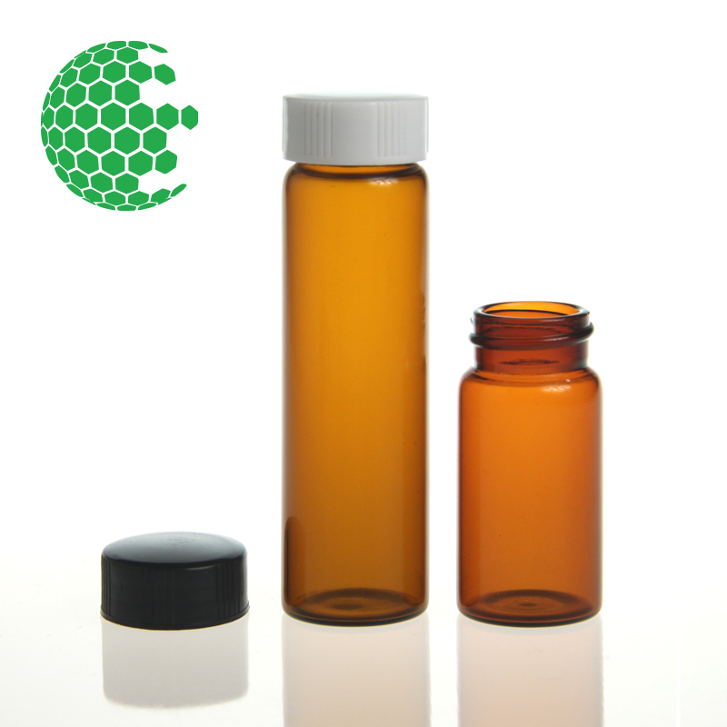 Emerald Caps for 20 mL Potency Extraction and Storage Vials (100pk)