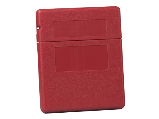 Document Storage Box For SDS Sheets, Medium-sized, Polyethylene, Lockable Flip-top Opening, Single P