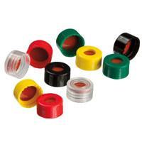2.0 mL, 9 mm Short-Cap, Screw-Vial Closures (Polypropylene, preassembled)