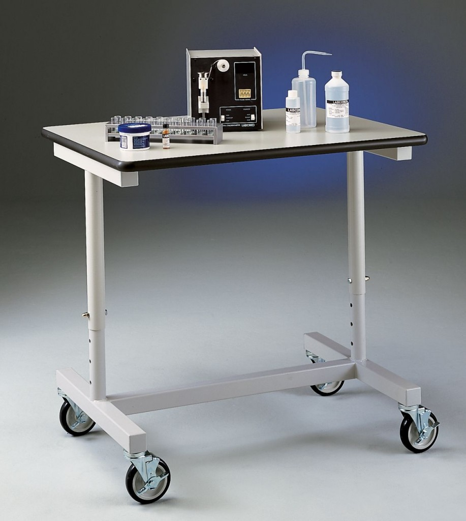 Variable Height Mobile Bench