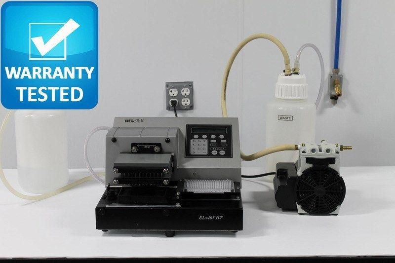 BioTek ELx405 HT High Throughput Microplate Washer ELX405HTV Pred. to Select