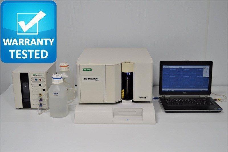 Bio-Rad Luminex Bio-Plex 200 Suspension Array Analyzer w/ BioPlex Manager 6.1