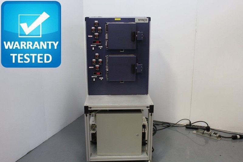 Amada Miyachi Unitek SA2200 Vacuum Oven Dual Chamber Bakeout Hermetic Sealing