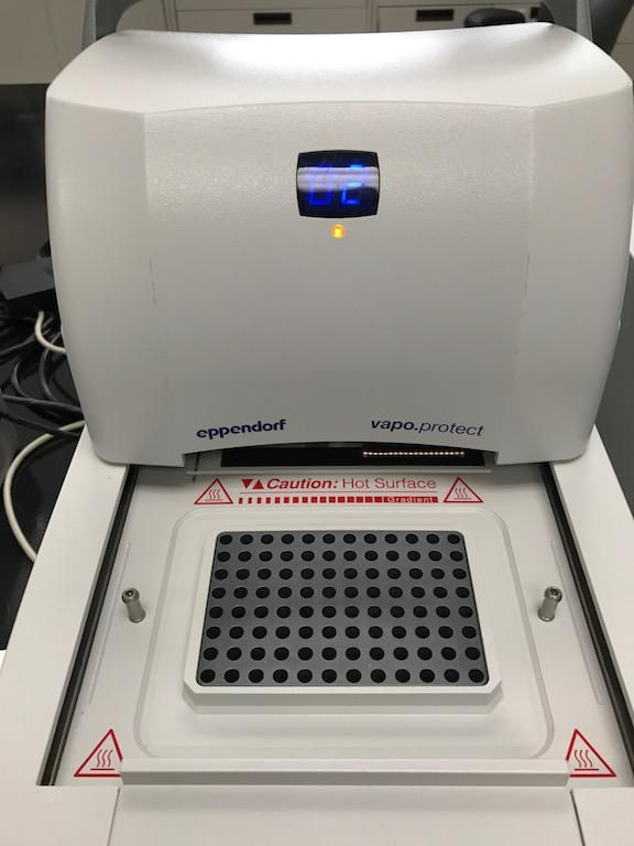 Eppendorf Mastercycler Pro S PCR Thermal Cyclers with Vapo Protect Lid