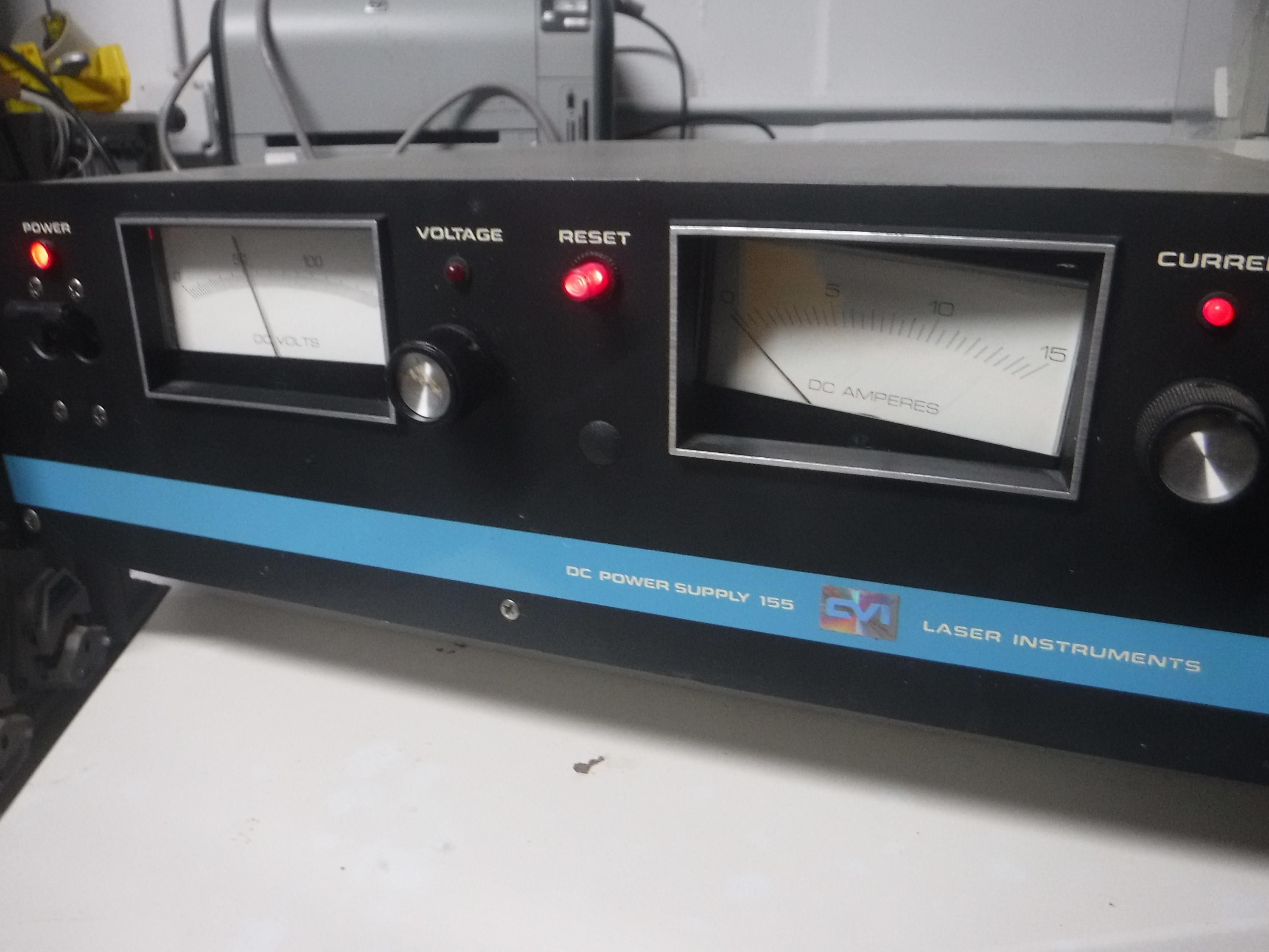 Used Coherent Laser Heads, CVI Power Supplies