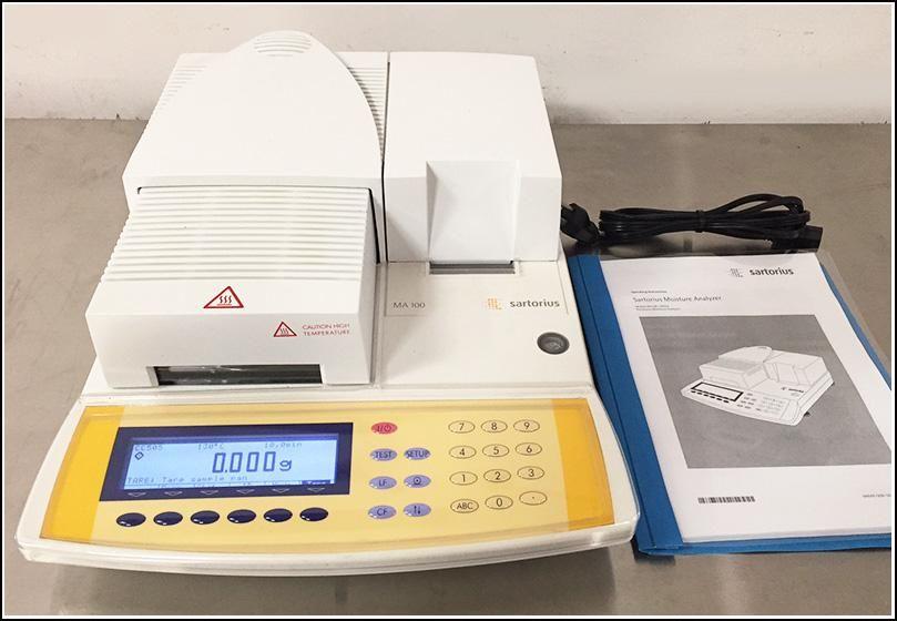 Sartorius Moisture Analyzer MA1000 H