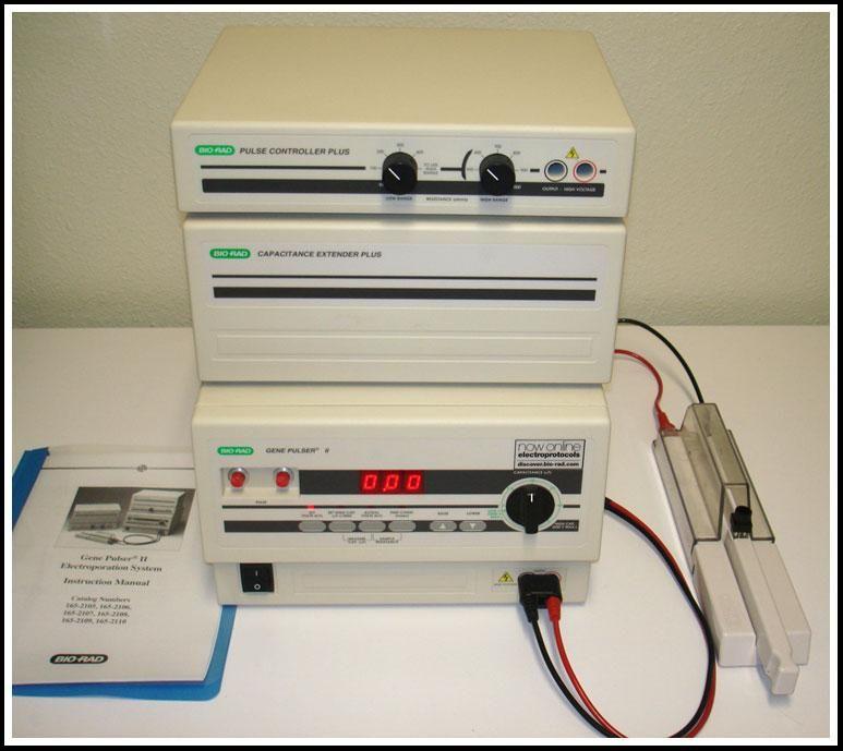 Bio-Rad Gene Pulser II  Electroporator COMPLETE w WARRANTY