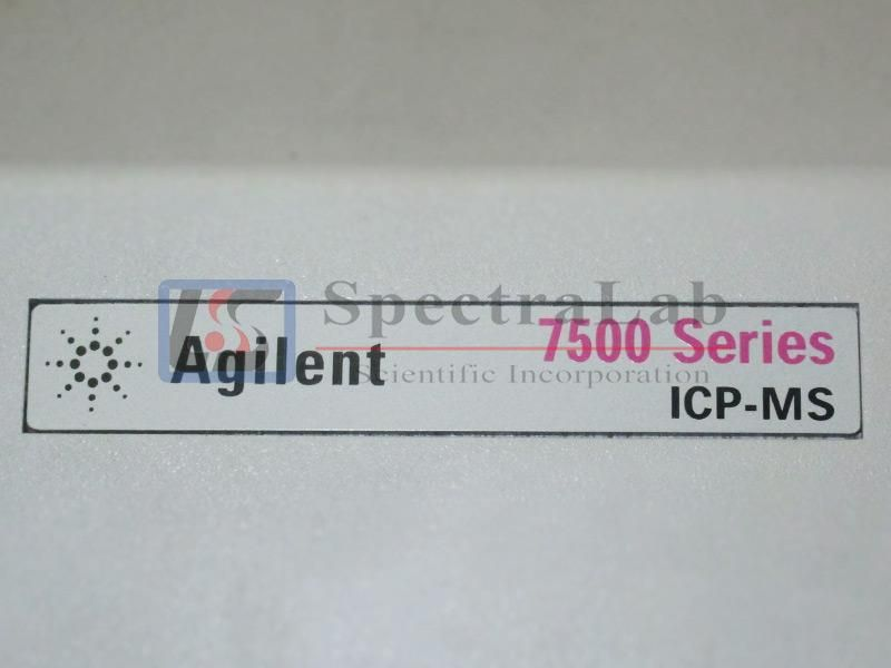 Agilent 7500 Series 7500a (G3151B) ICP-MS