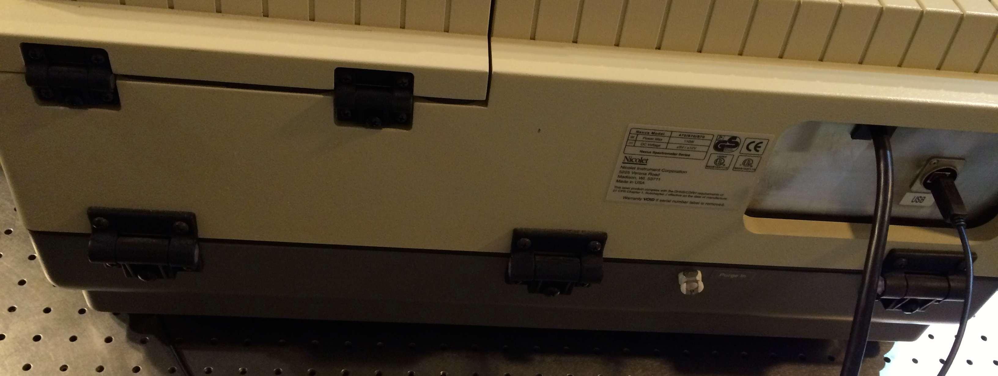 Thermo Nicolet 6700 FTIR