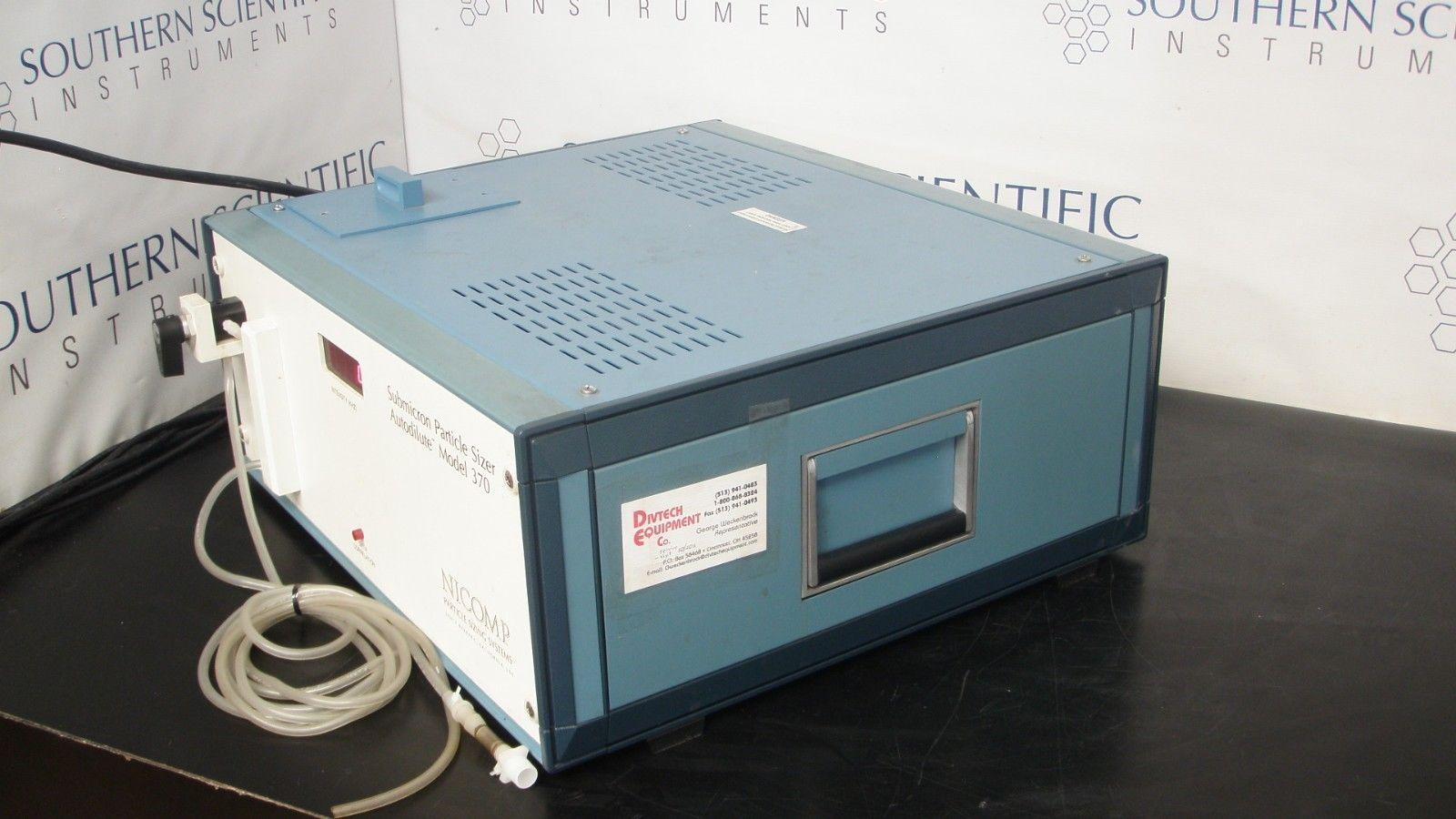 NICOMP Submicron Particle Sizer Autodilute Model 370