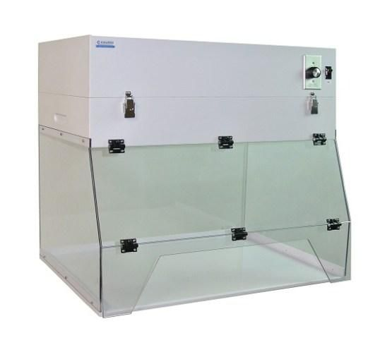 32 in. Ductless Exhaust Fume Hood Portable AR Polycarbonate