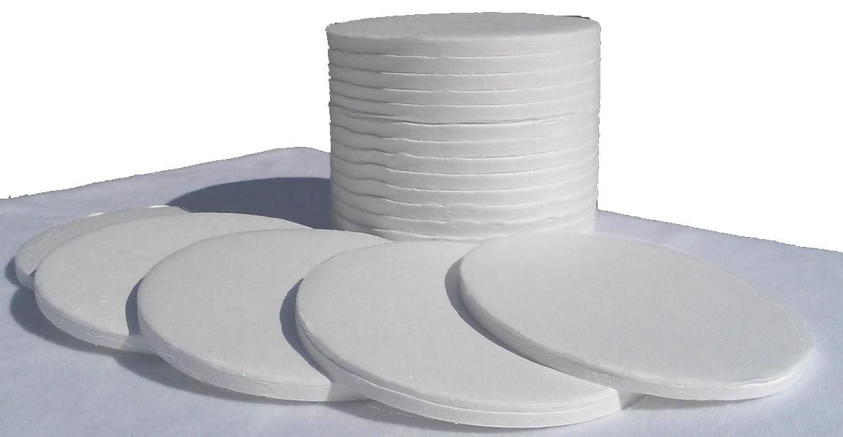 Glass Fiber Sample Pads - 200 Count - for use with Moisture Analyzers