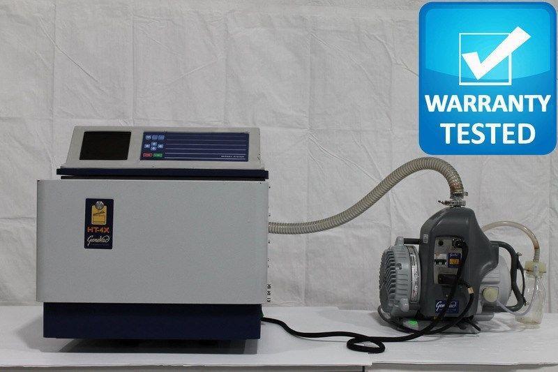 SP GeneVac HT-4X Evaporator HT4 w/ Edwards XDS5 Vacuum Pump