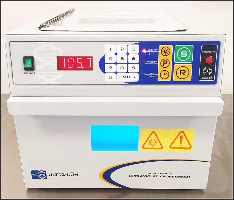 UV Crosslinker 365nm Bulbs Ultralum AEX-800 w WARRANTY