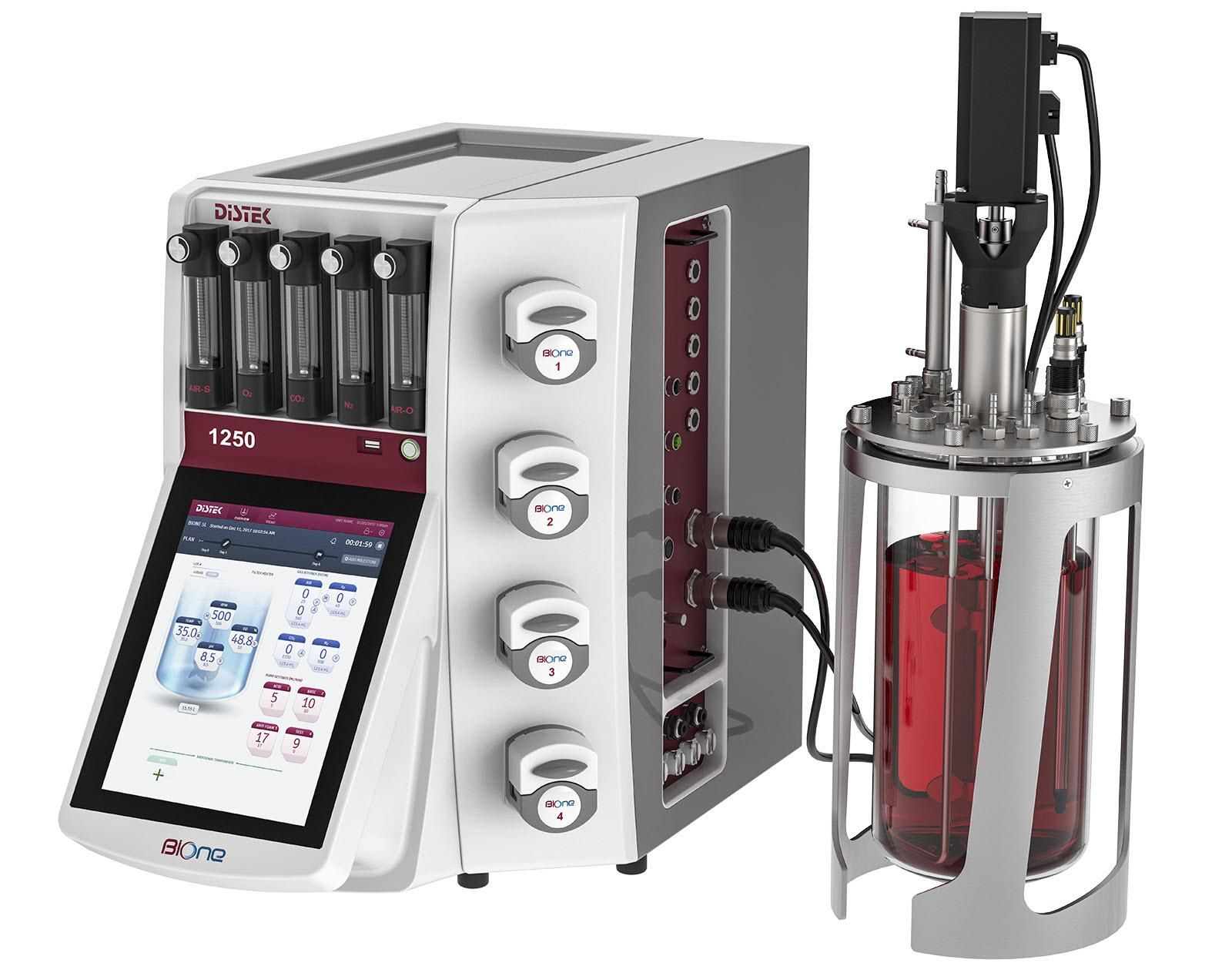 Distek, Inc. Releases BIOne 1250 Bioprocess Control Station