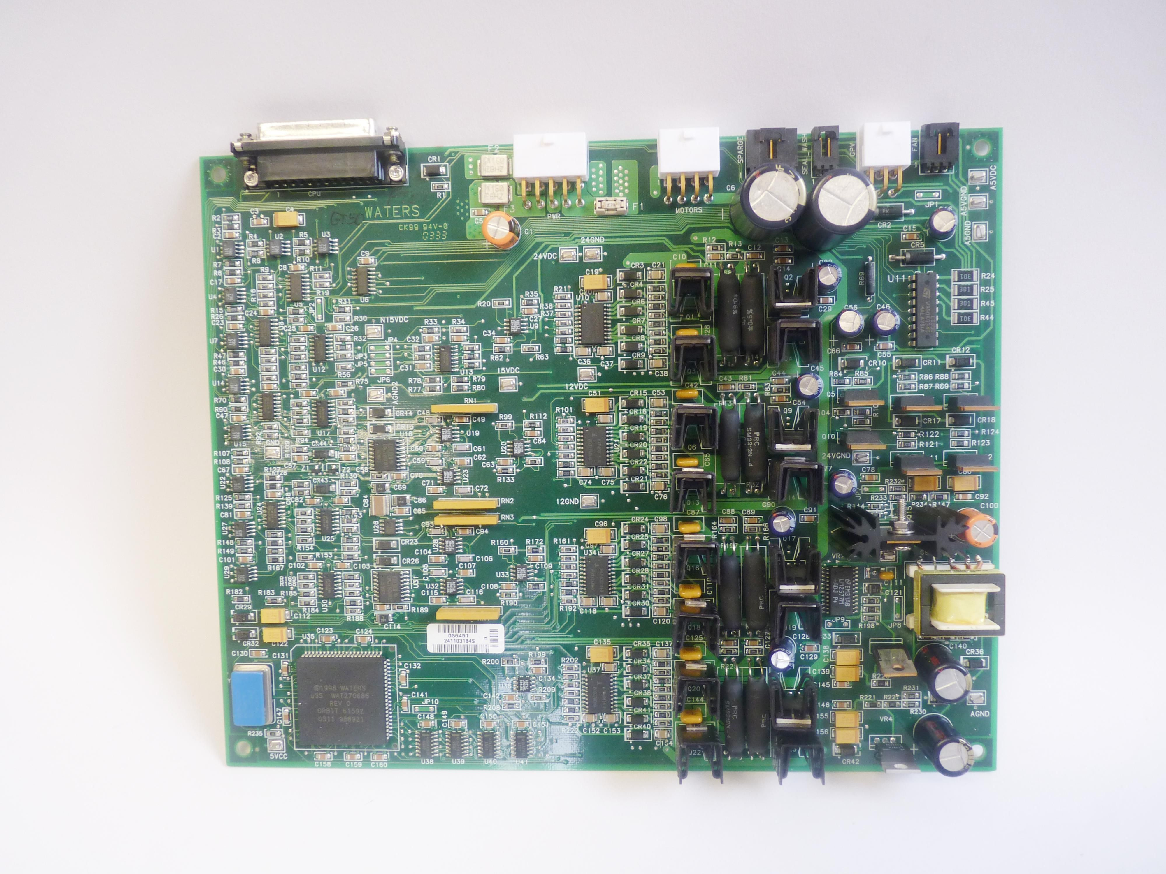 Waters 2695 PCB plunger driver board
