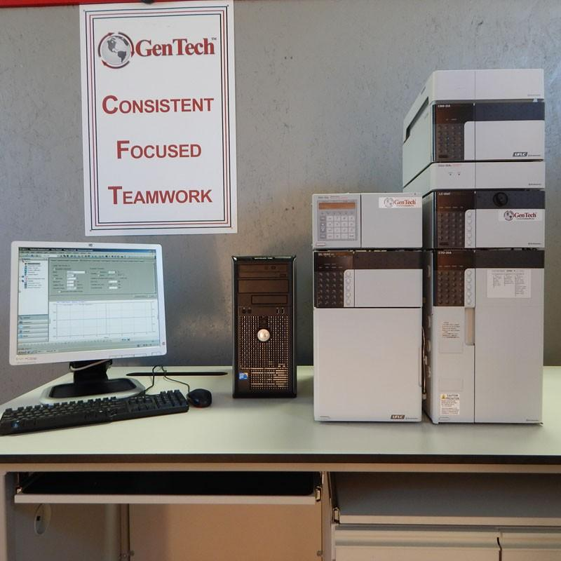 Shimadzu Prominence LC-20A HPLC with RID