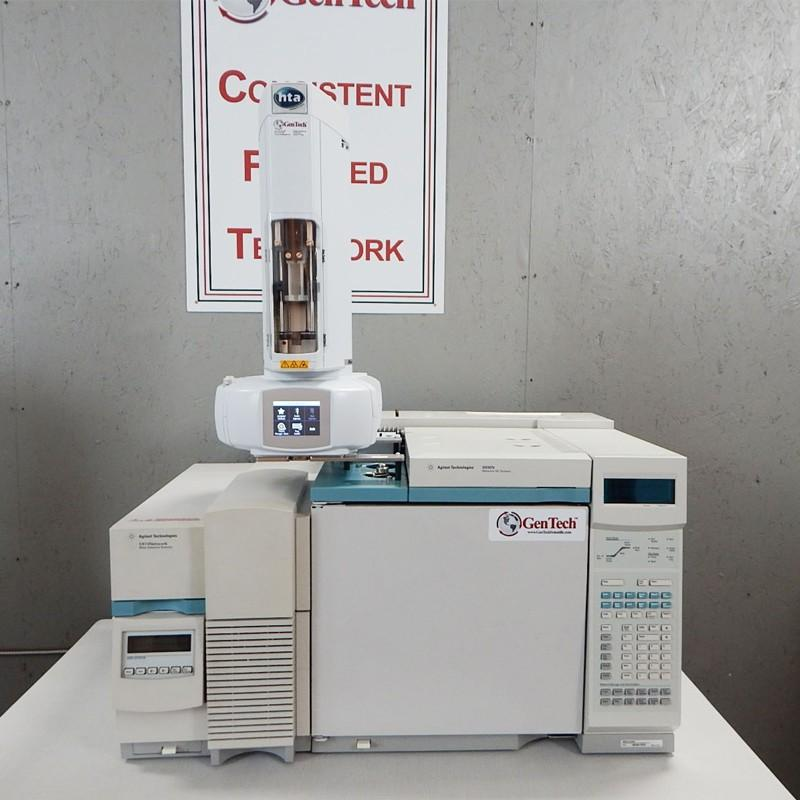 Agilent 5973 MSD with 6890 GC and Automatic Liquid Sampler