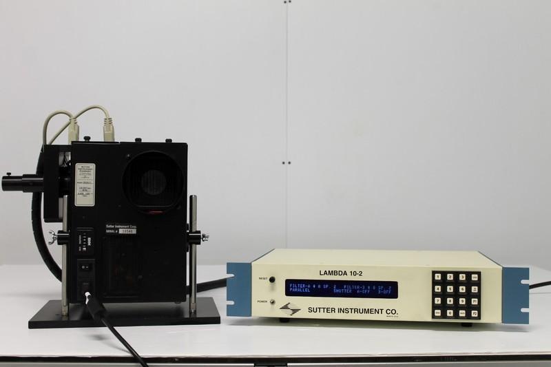 Sutter Lambda LS Illuminator LB-LS/17 Xenon Arc Lamp w/ 10-2 Controller LB10-2