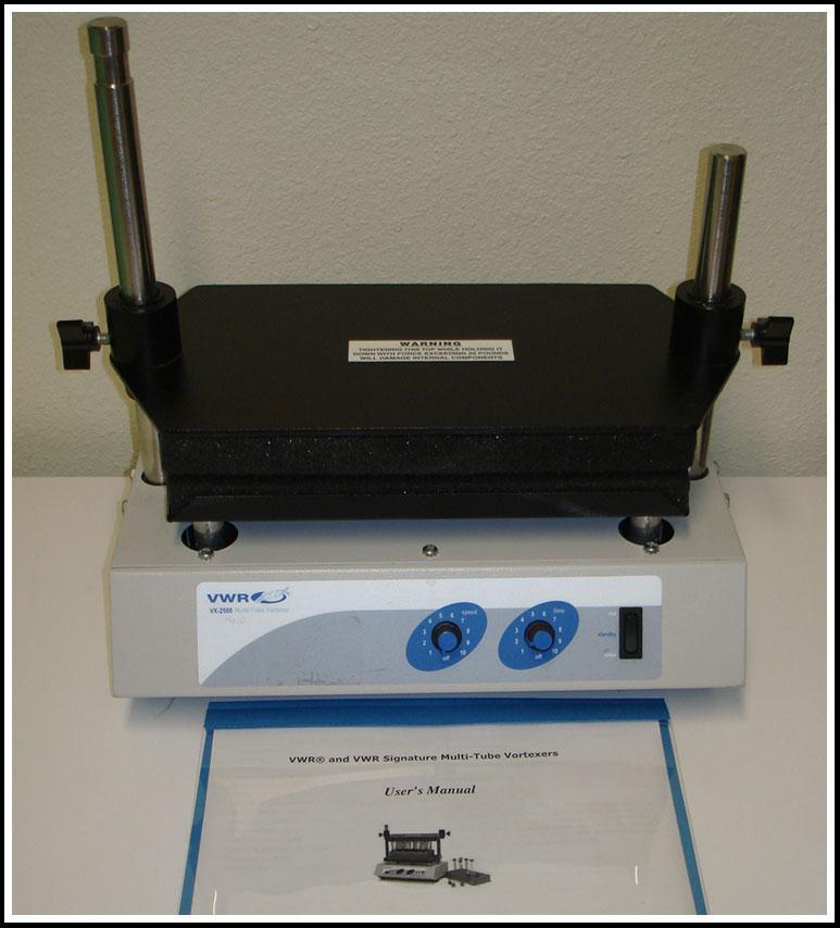 VWR Multi-Tube Vortexer Vortex Mixer Shaker w WARRANTY