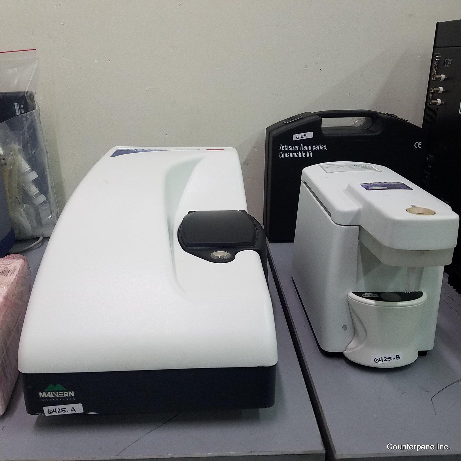 Malvern Zetasizer ZS90 Particle Analyzer (Size, Zeta, Weight)