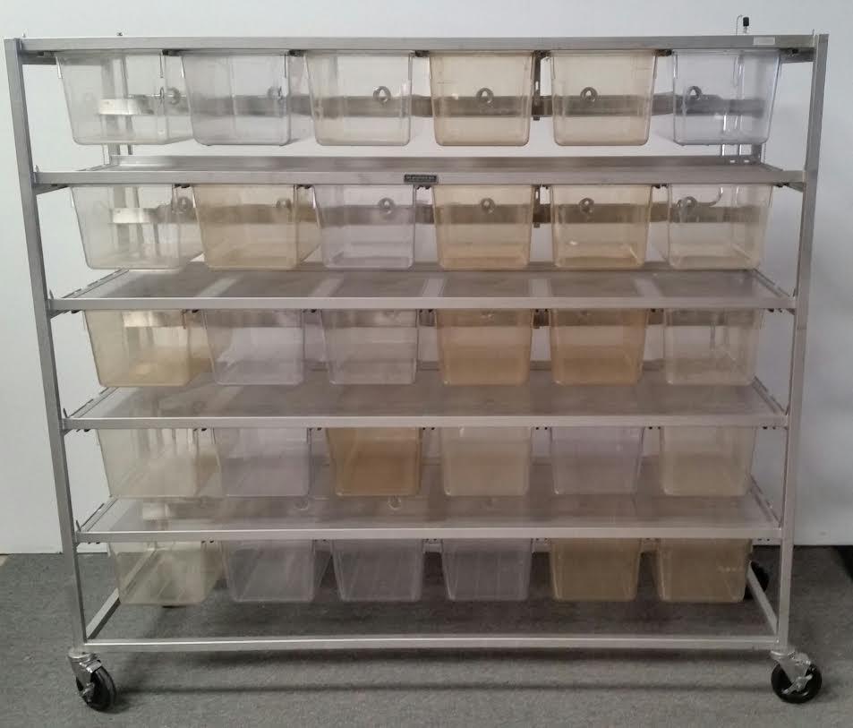 Allentown / Lab Products 30 cage plastic RAT cages
