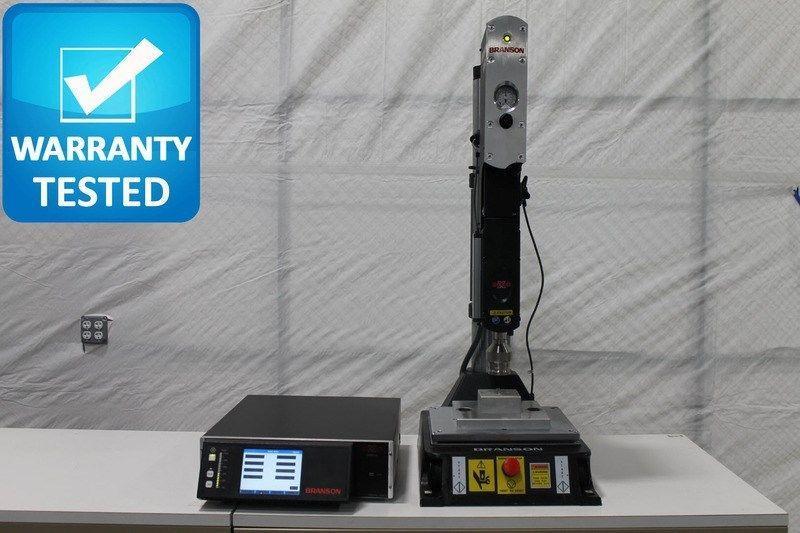 Emerson Branson 2000X Ultrasonic Welder w/ AED Actuator