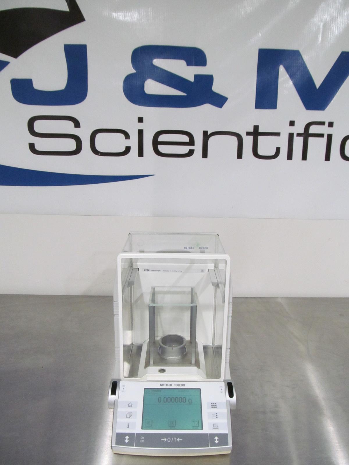 Mettler AX26 Delta Range Micro Balance 0.002mg / 21mg - 3g / 21g