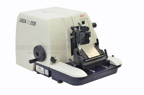 Leica RM2135 microtome, refurbished, 1 year warranty- Southeast Pathology Instrument Service
