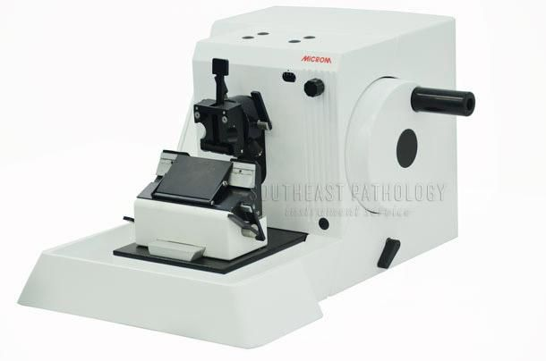 Microm HM310 microtome, refurbished, 1 year warranty- Southeast Pathology Instrument Service