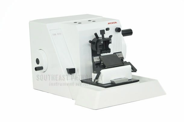 Microm HM315 microtome, refurbished, 1 year warranty- Southeast Pathology Instrument Service