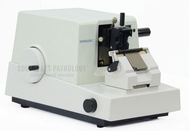 Shandon AS325 microtome, refurbished with warranty- Southeast Pathology Instrument Service