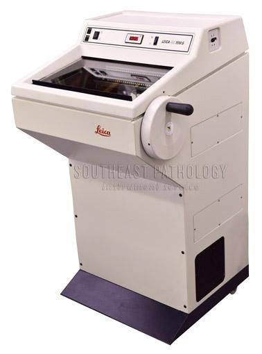 Leica CM1510S cryostat, refurbished, 1 year warranty- Southeast Pathology Instrument Service