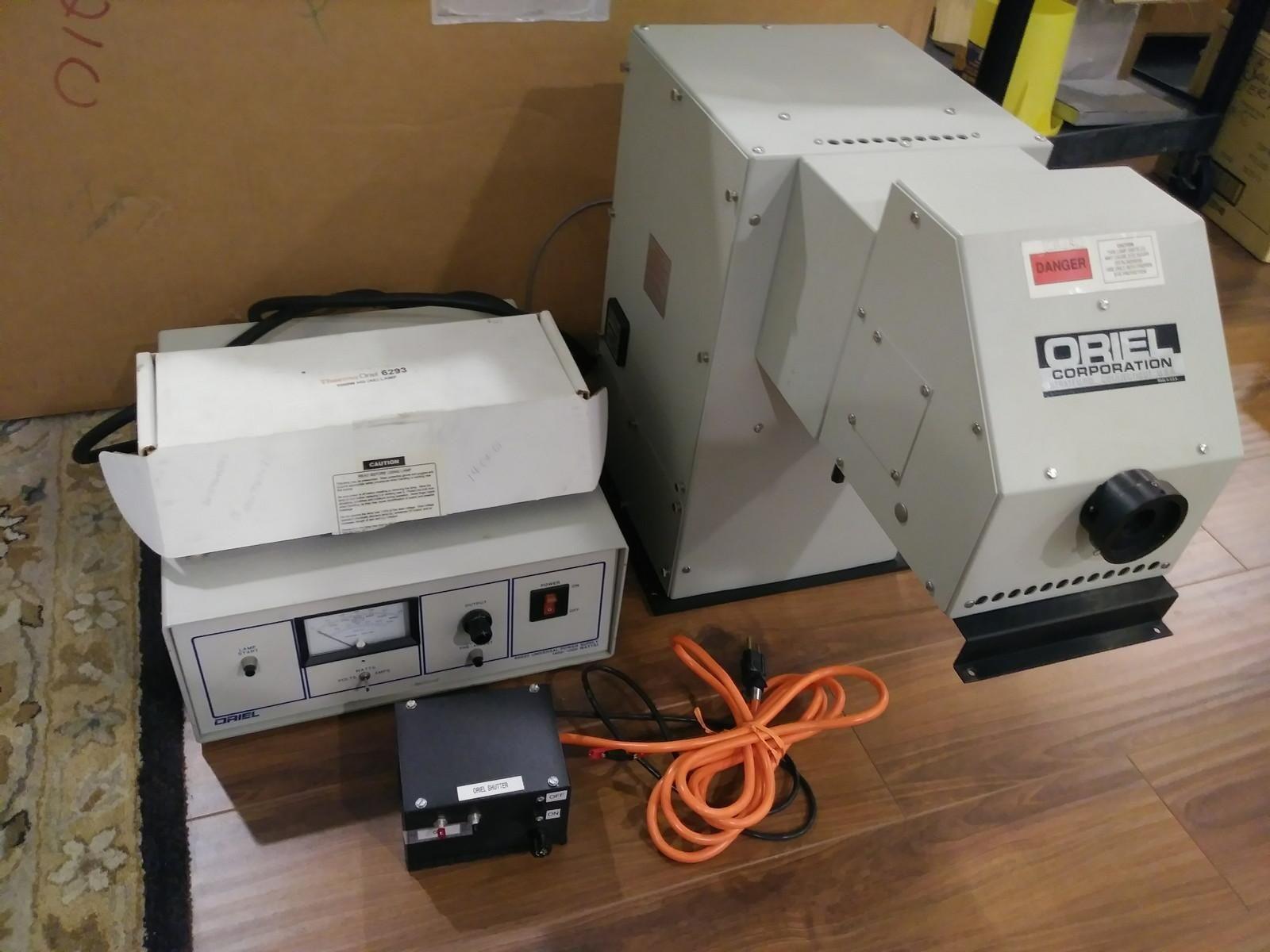 Newport Oriel Solar Simulator 82410 + 2 Lamps + 1kW Power Supply 68820
