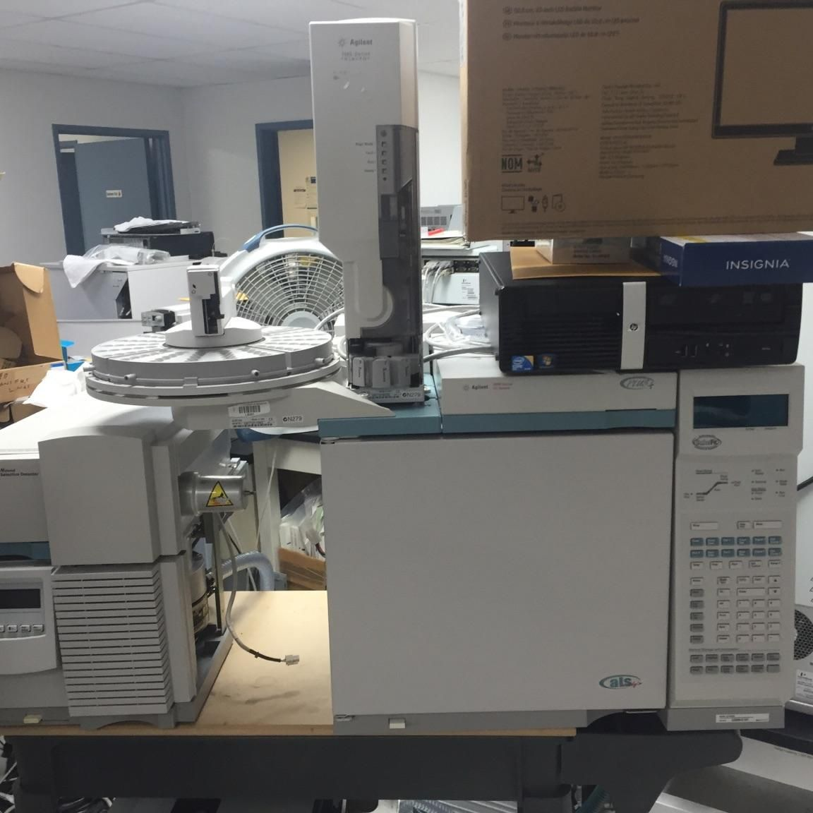 Agilent GC/MSD 6890N / 5873N Fully Refurbished.