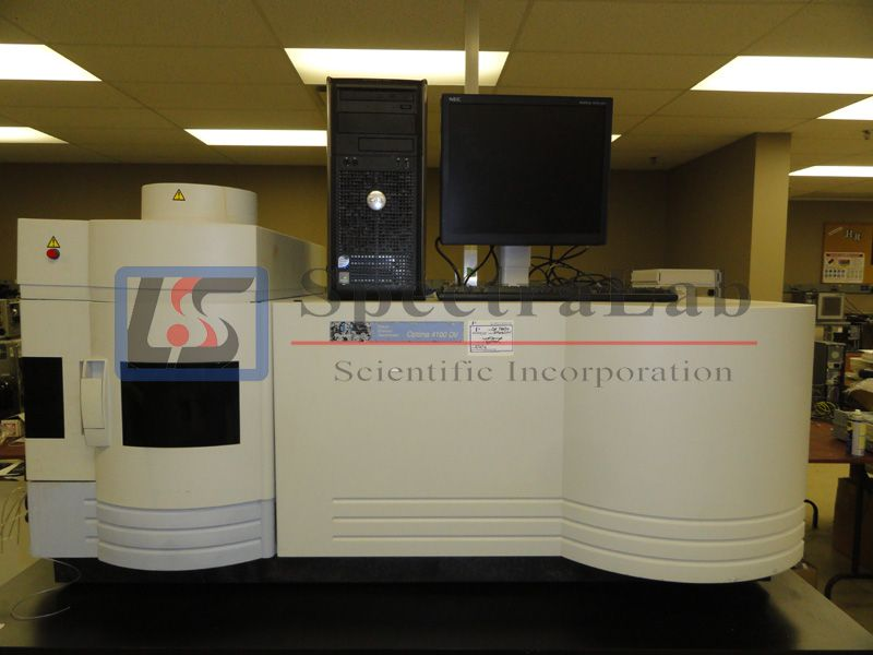 PERKIN ELMER Optical Emission Spectrometer Optima 4100 DV    We are told the ICP 4100DV HAS never be