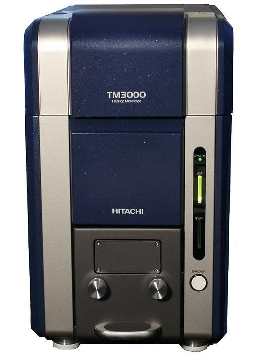 Hitachi TM3000 Tabletop Scanning Electron Microscope (SEM)