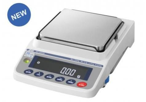 Apollo GX-6001A Precision Balance with Internal Calibration 6200 g x 0.1 g