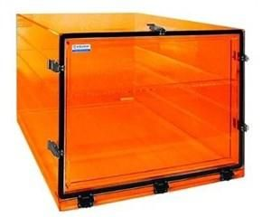 Cleatech 1400-1-AC/I One Door Desiccator Cabinet Amber Acrylic