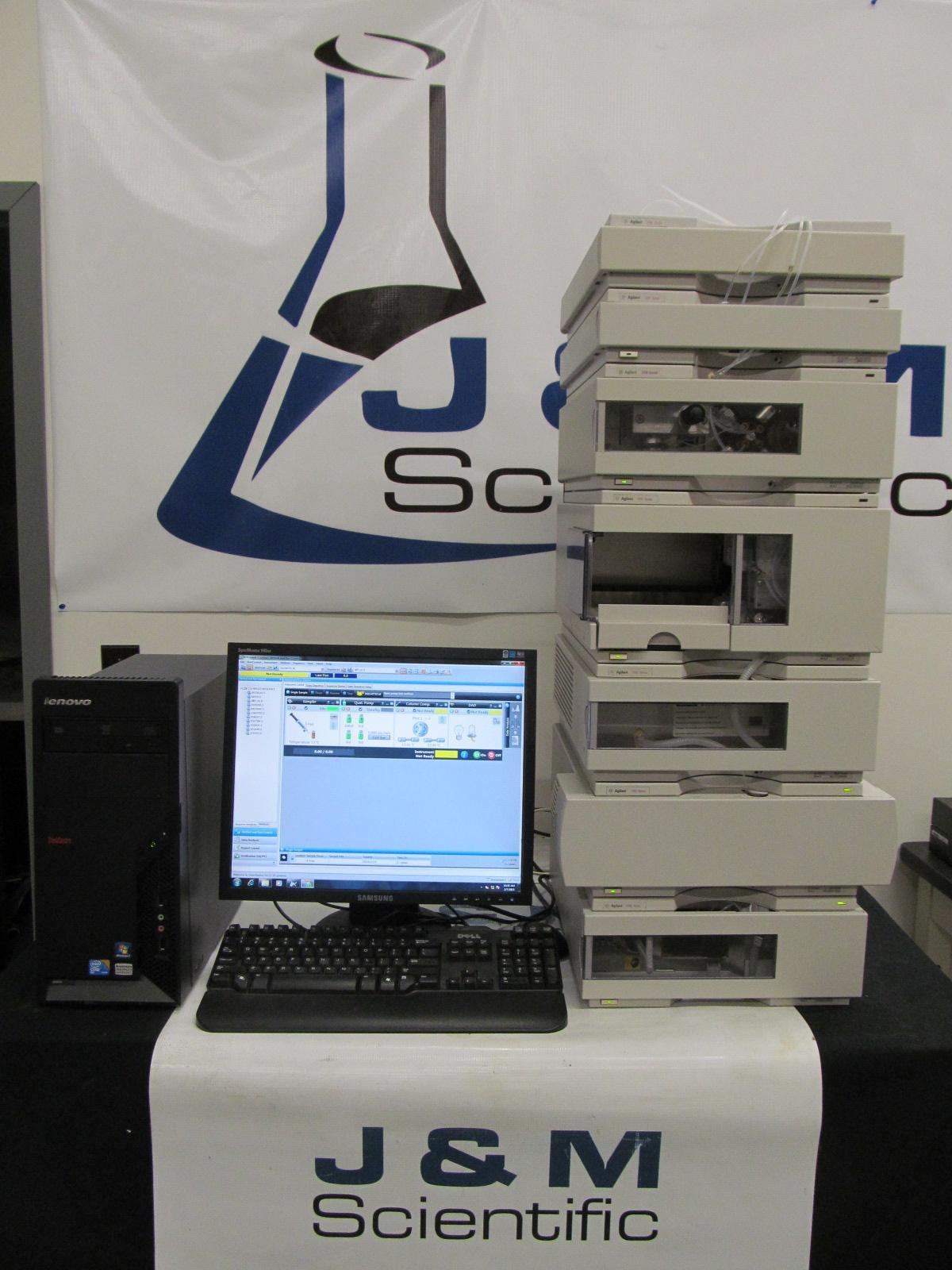 Agilent 1100 Series HPLC Quat - ALS - ALS Therm - Colcom - DAD - Degasser