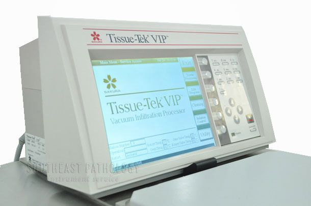 Sakura Tissue-Tek VIP 5 Tissue Processor, refurbished, 1 year warranty - Southeast Pathology Instrument Service