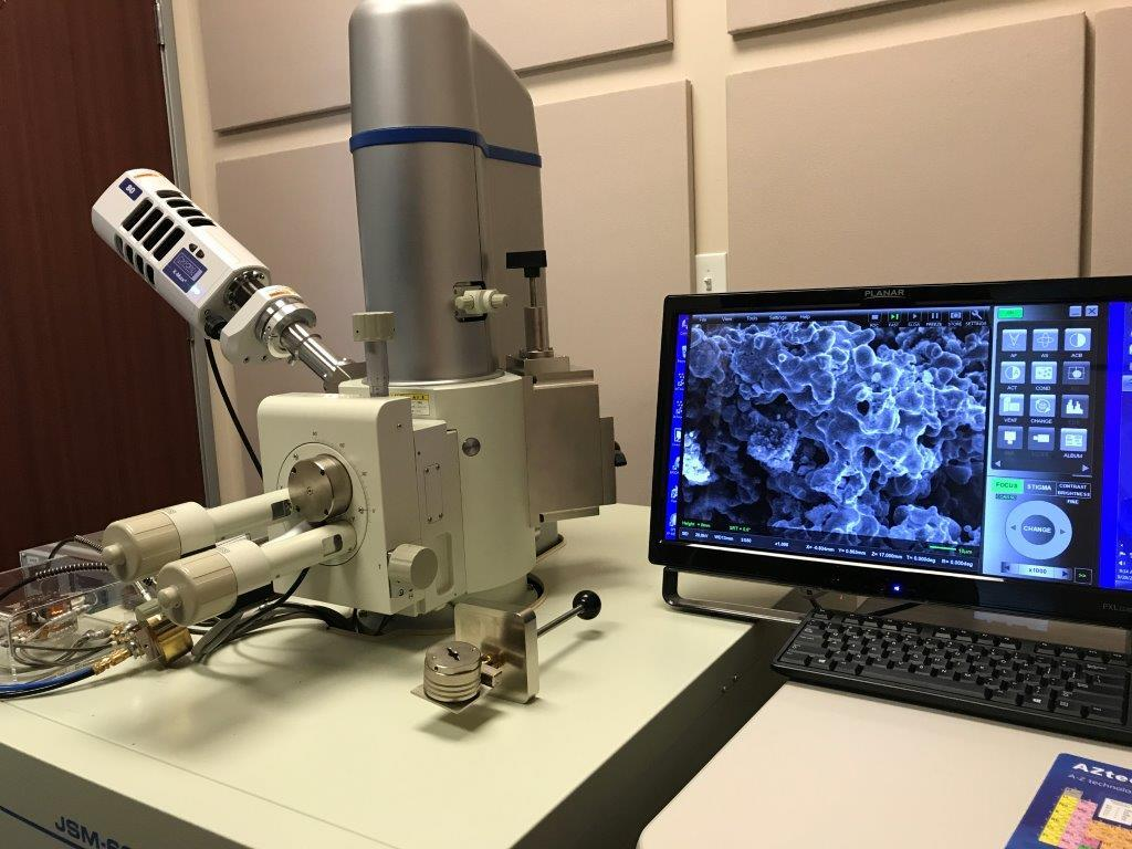 JEOL JSM-6010PLUS/LV Scanning Electron Microscope with Motorized X-Y Stage