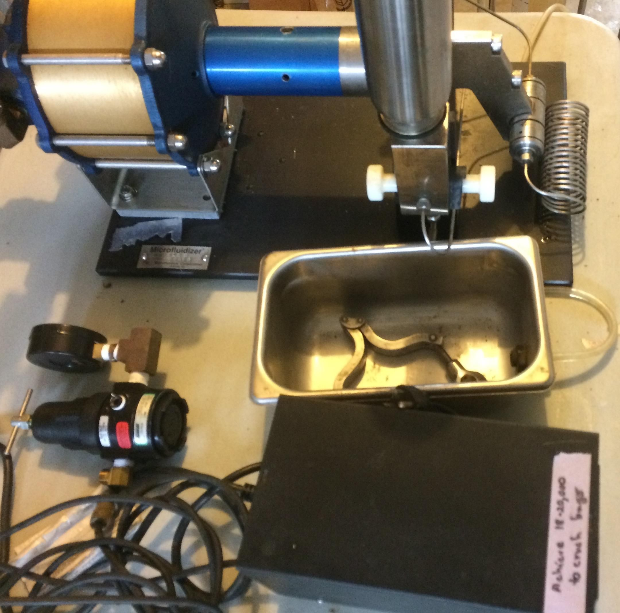 Microfluidics 110S For Sale Used In Good S