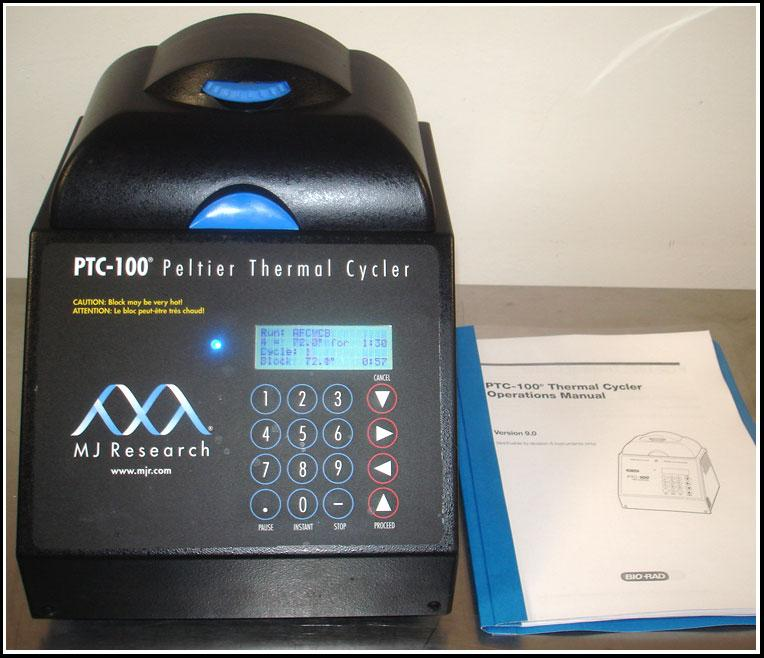 MJ Research Thermal Cycler PTC-100 96x0.2ml w WARRANTY