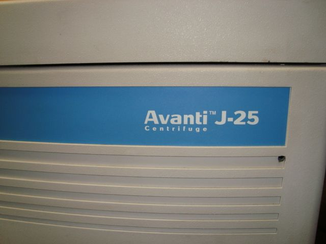 Beckman Avanti J-25 Centrifuge - Certified with Warranty