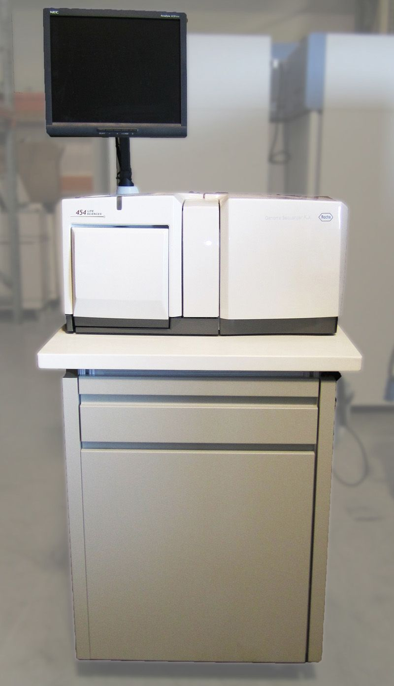 Roche 454 Life Sciences Genome Sequencer FLX