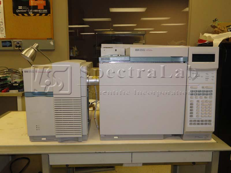 Agilent 5973 Network MSD G2578A (S/N US21863230) with HP 6890 GC