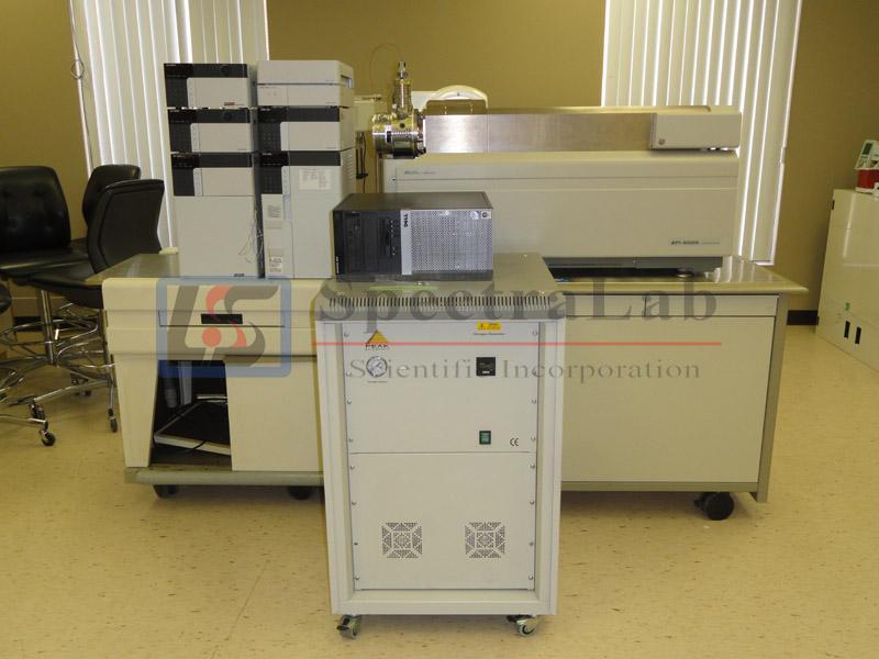 AB  Sciex  API 4000 (2008 model)  LC/MS/MS, with  Turbo Spray ESI
