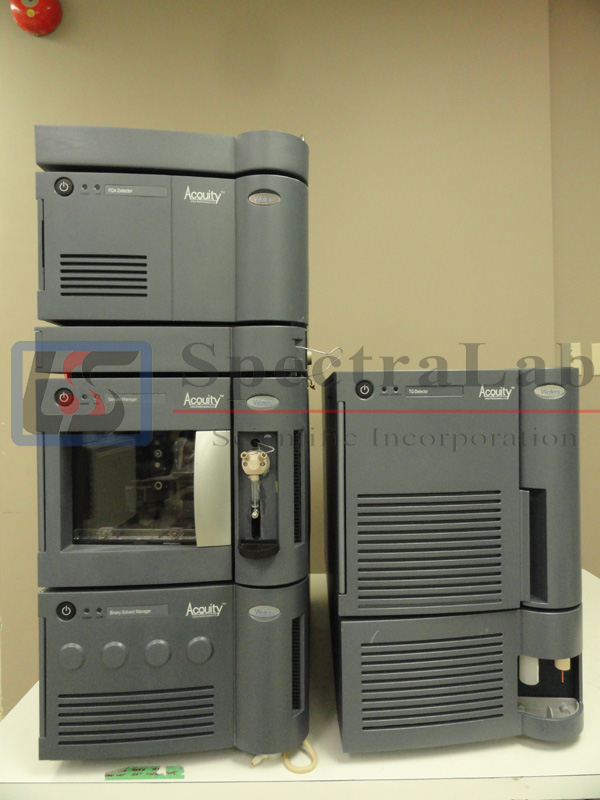 Waters TQD  Detector LC/MS/MS complete with Waters Acquity  uPLC System
